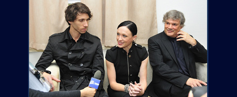 Christian Tatchev, Rachael Walsh and Francois Klaus